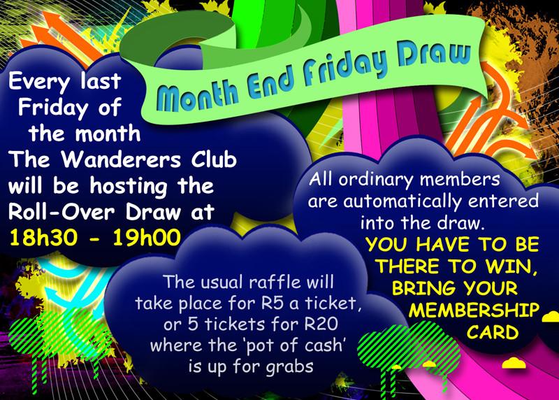 wanderers club Friday Draw 1