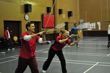 wanderers club Badminton 1