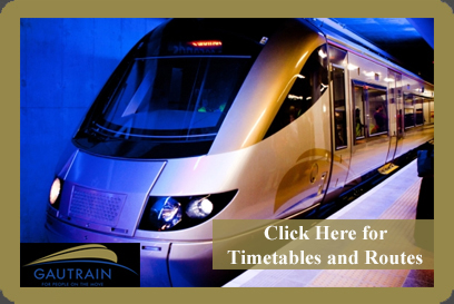Take the Gautrain to Wanderers