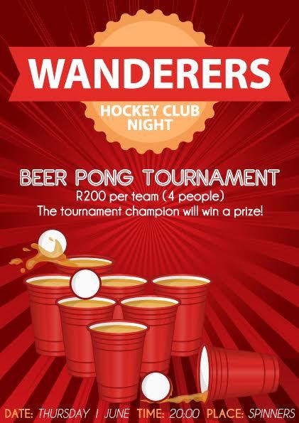 wanderers club Hockey Club Night 1