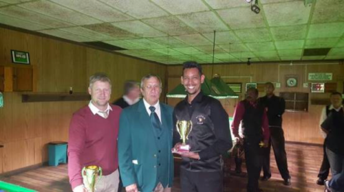 Gert Muller Pairs Runners-Up – Craig Heath and Fakhrie Gierdien