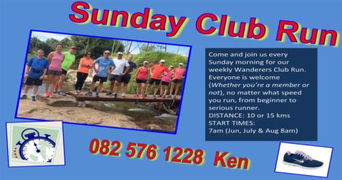 sunday club run
