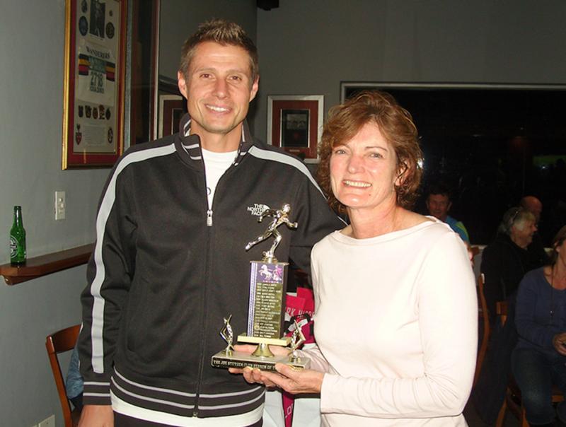 wanderers club THE JOE STUTZEN TROPHY – 2017 Athletics Club person of the year award 1