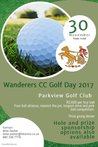 wanderers club Cricket October Update 2