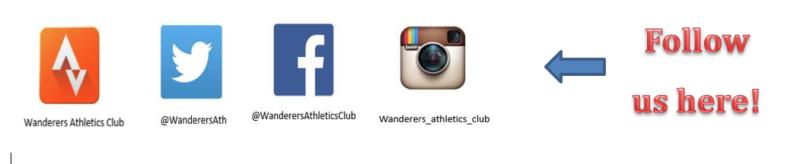 wanderers club Wanderers Athletics - November Newsletter 16