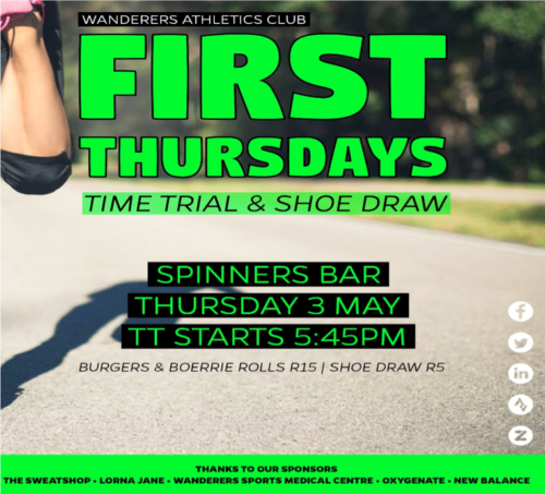 wanderers club Athletics April Update 18