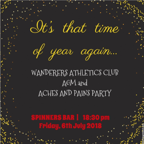 wanderers club Wanderers Athletics News Update June 2018 1