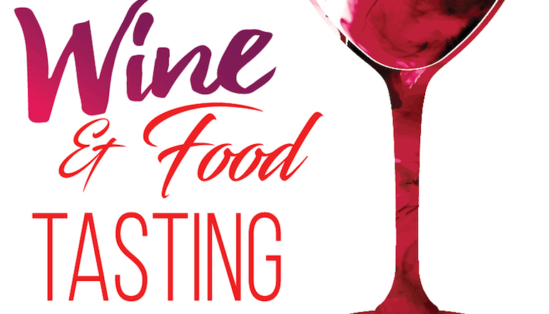 food and wine tasting