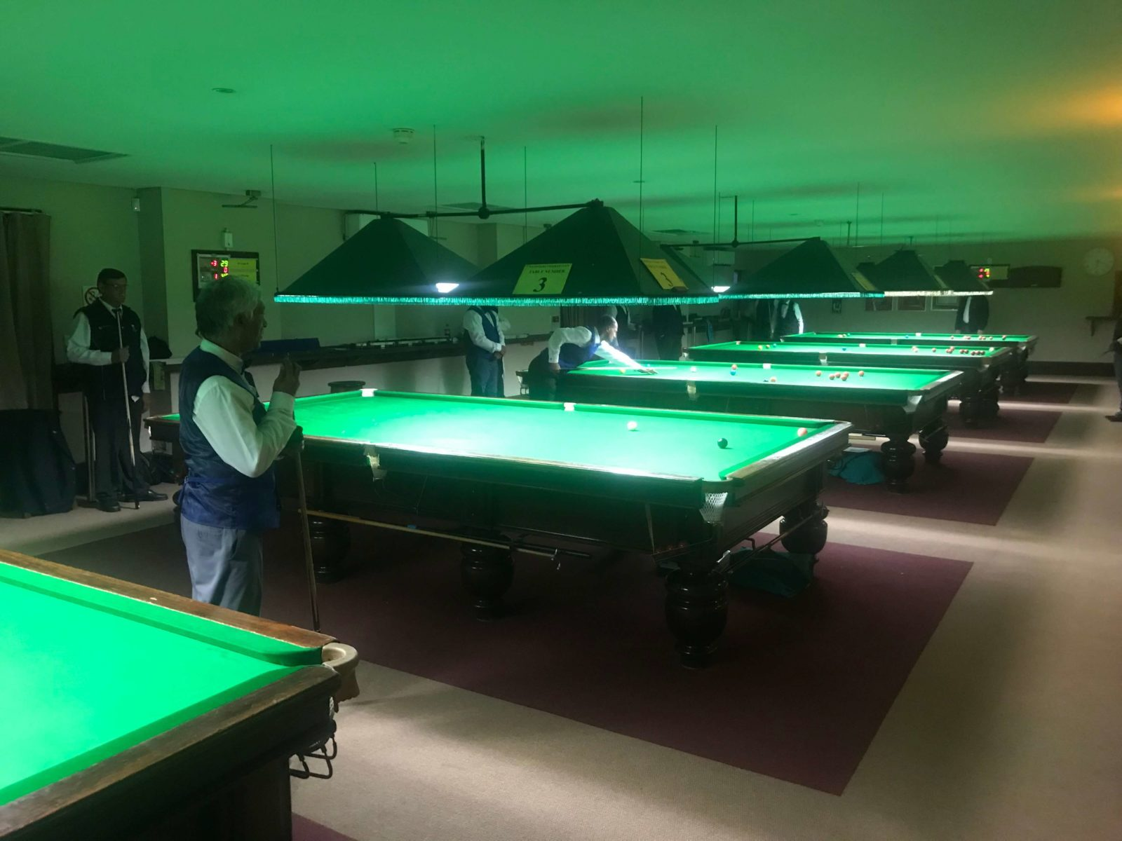 wanderers club Gauteng Masters Snooker Tournament 1