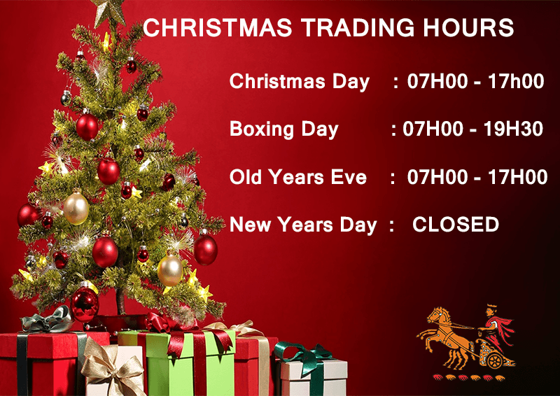 wanderers club Christmas Trading Hours 1