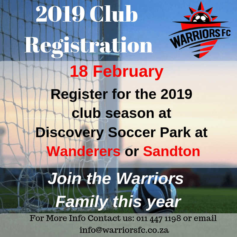 wanderers club Warriors FC - Club Registration 1