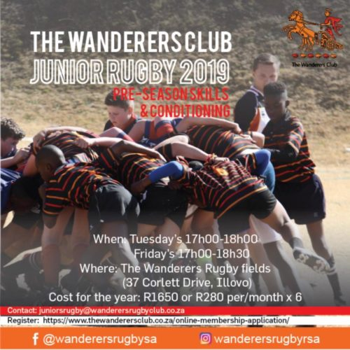 wanderers club Junior Rugby News - February 2019 1