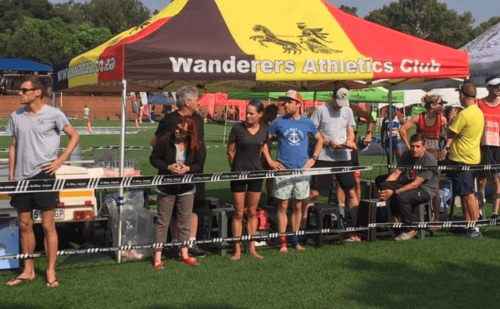 Wanderers athletics running club