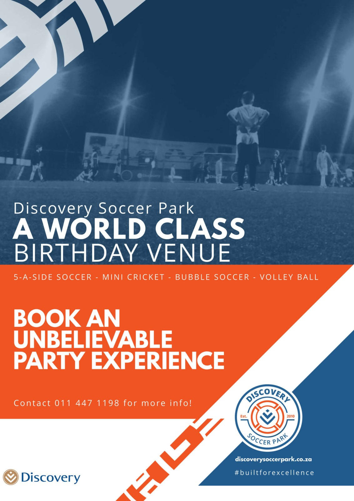 wanderers club Discovery Soccer Park News, April 2019 2