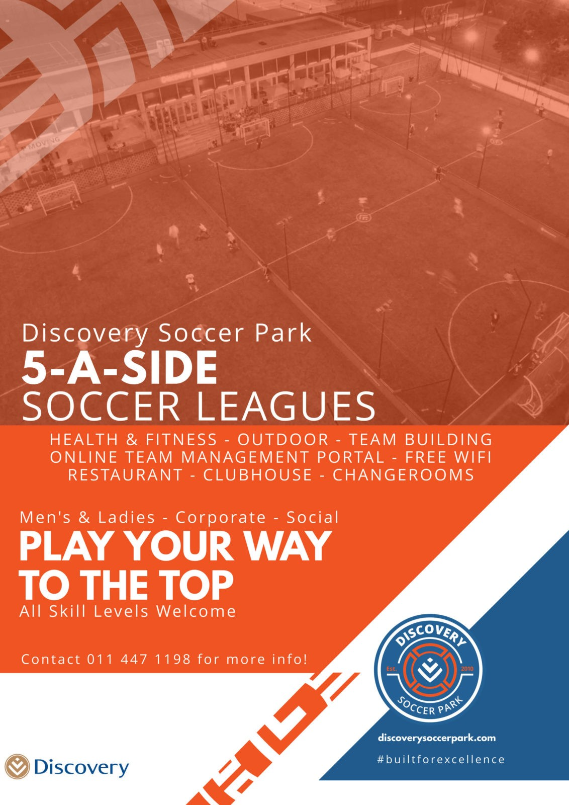 wanderers club Discovery Soccer Park News, April 2019 3