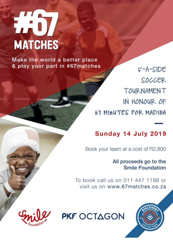 mandela day #67 Matches Poster