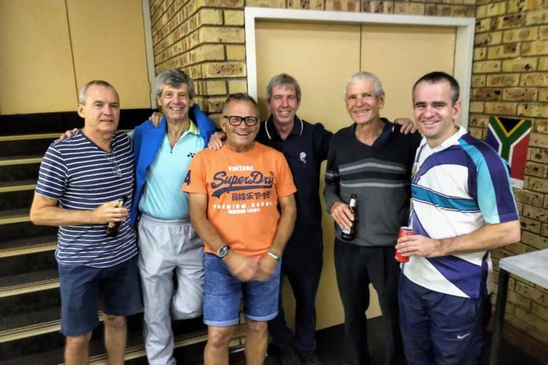 Roy & Gary Plumstead (far right)