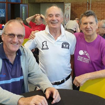 Chris Hughes, Mike Barnard, Dave Grant