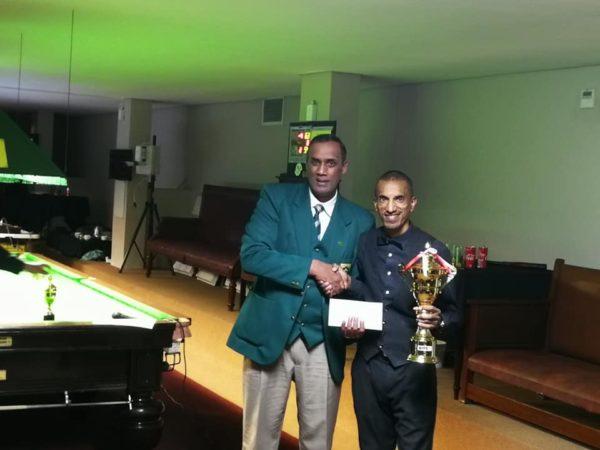 SA Masters Snooker Champion 2019 – Mutalieb Allie