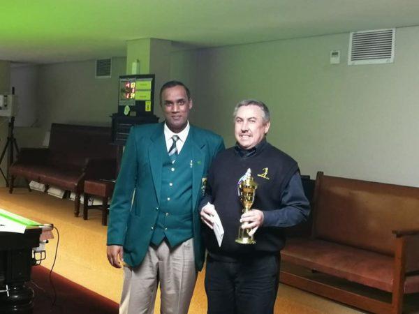 SA Masters Snooker Runner-Up 2019 – Francois Ellis