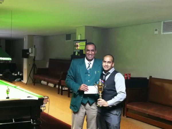 SA Masters Plate Winner 2019 – Iqshaan Alladin