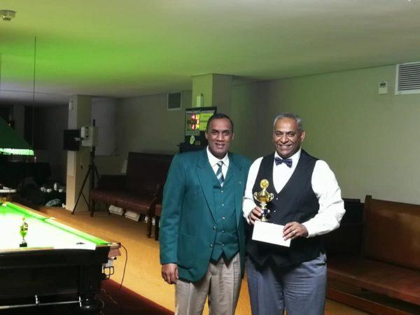 SA Masters Plate Runner-Up 2019 – Mukesh Dayah