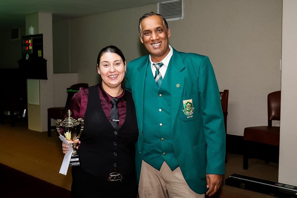 Suzette Booyens – Runner-Up 2019 SA Ladies 6 Reds, SA Ladies Singles & SA Ladies Classic