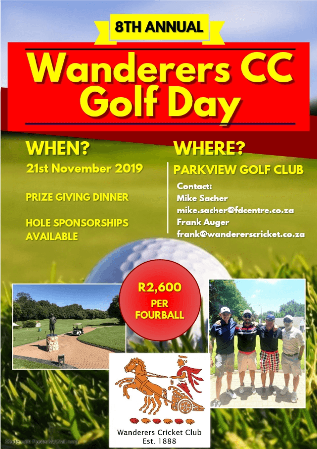 wanderers golf day