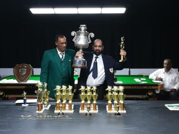 SA Billiards Champion – Munier Cassim