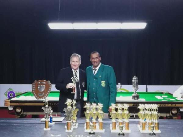 SA Billiards Runner-Up – Mark McGillewie