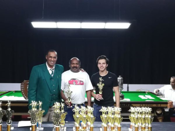 SA Pairs Runners-Up – Latchman Moodley & Vincent Halliday