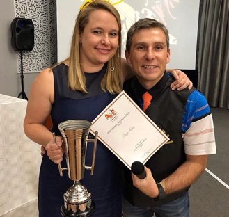Stu Hoepper Award (contribution to the spirit of the club) – Bernie Lesar