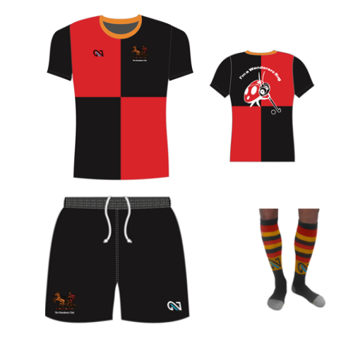 wanderers club u5-u9 Boys Kit 10