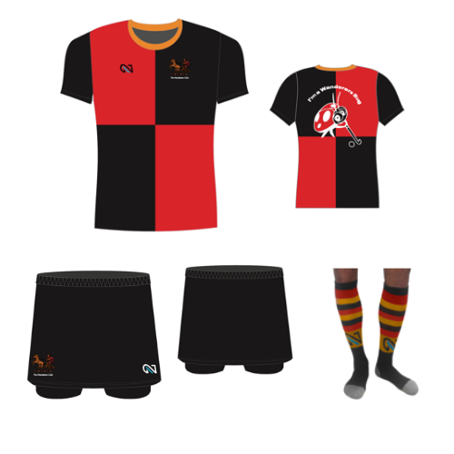 wanderers club u5-u9 Bugs Girls Kit 8