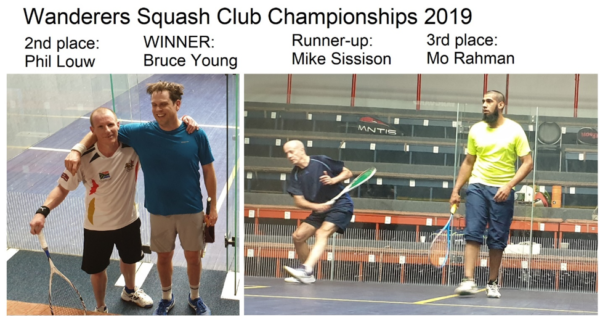 wanderers club Squash News, November 2019 4