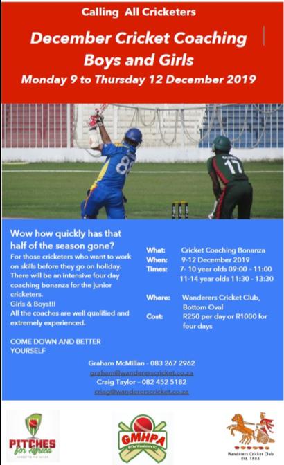 wanderers club Cricket News update 13