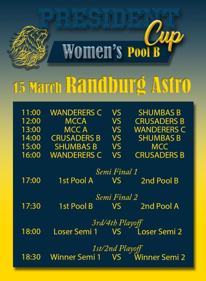 wanderers club Senior Hockey Information 4