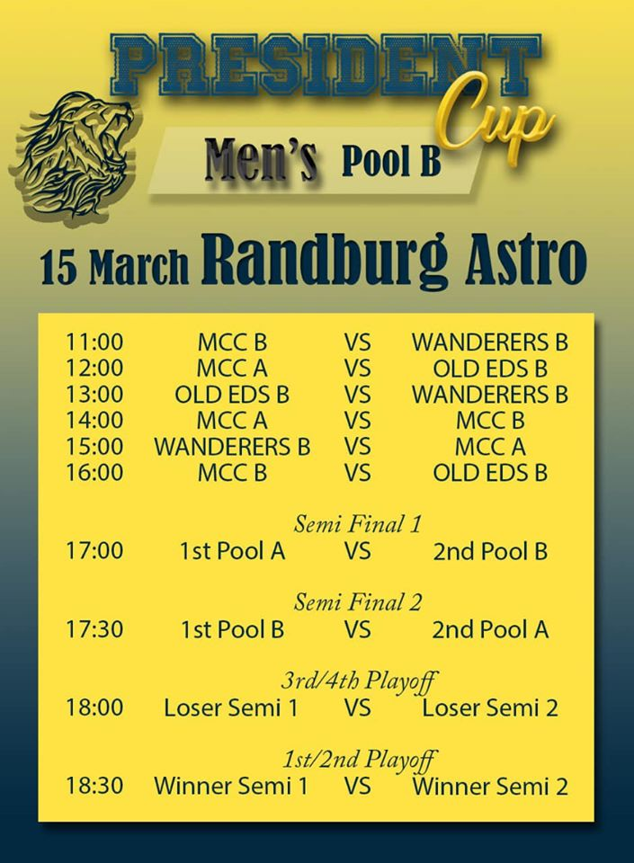 wanderers club Senior Hockey Information 3
