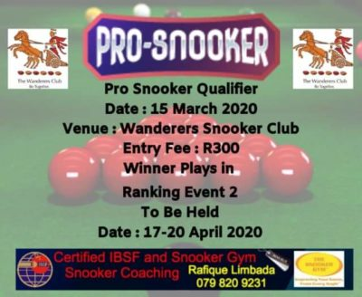 wanderers club Snooker News February 2020 6