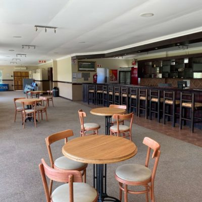 Rugby clubhouse