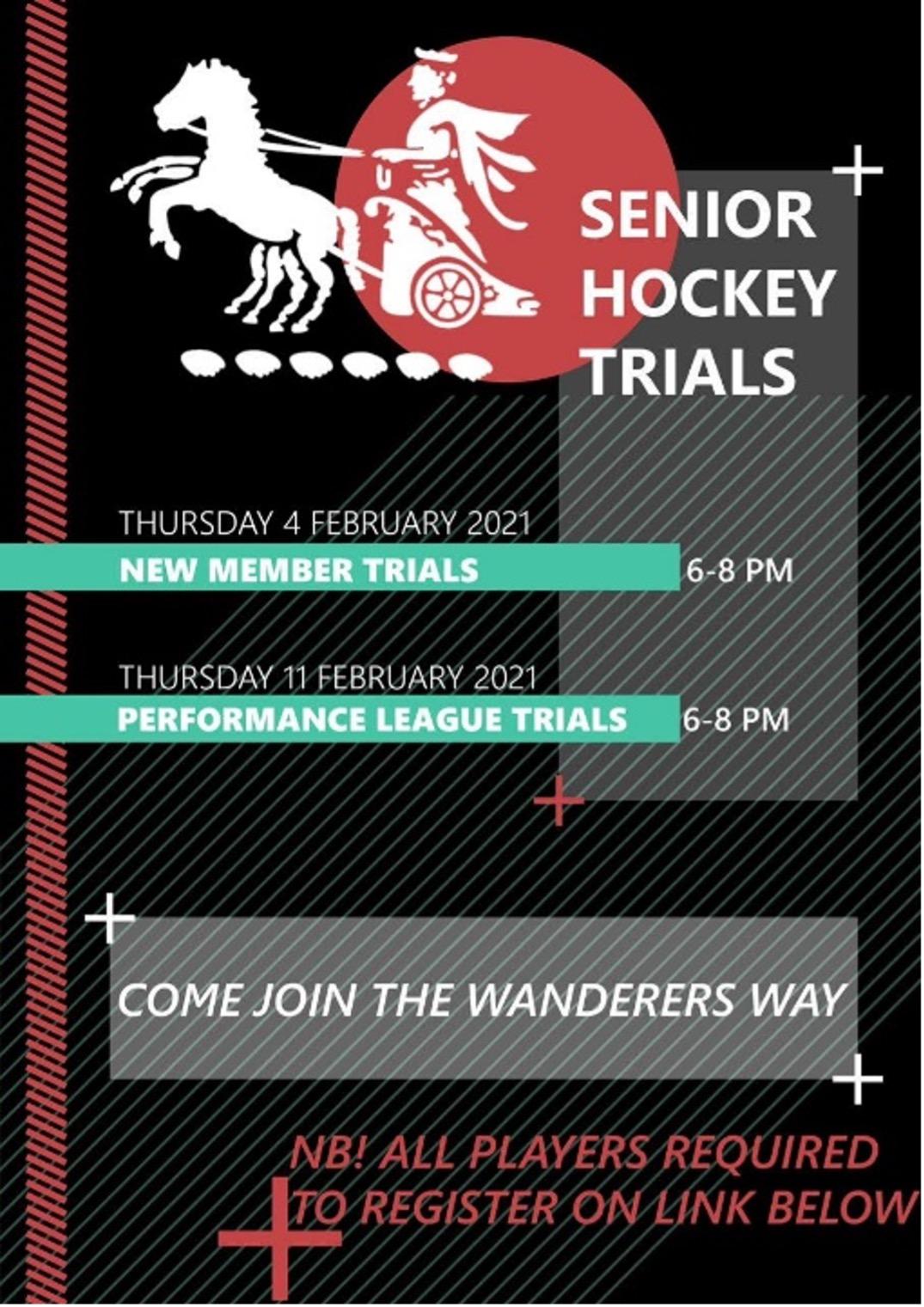 senior trials