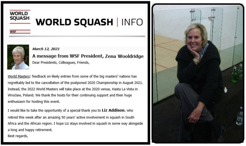 wanderers club Squash News, April 2021 22