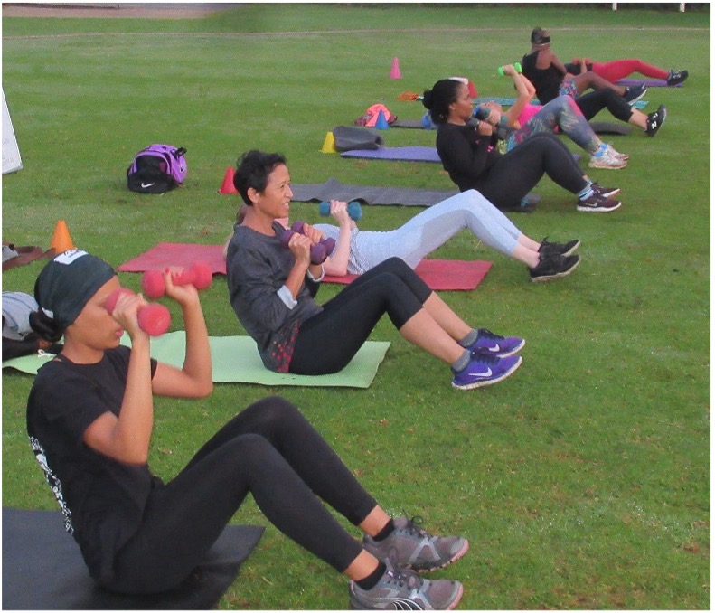 wanderers club Outdoor Group Fitness For Women, With Lifestyle Coach 3